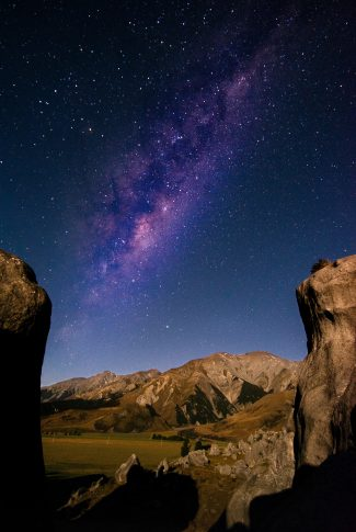 Download The Galaxy In Purple Wallpaper Cellularnews