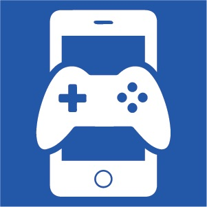 Gaming phone icon