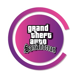 Grand Theft Auto (GTA) Apk logo