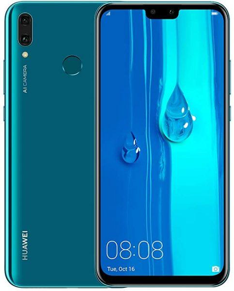 Huawei Y9 in Blue