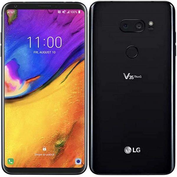 LG V35 in black