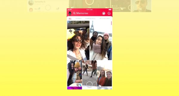 Memories on Snapchat