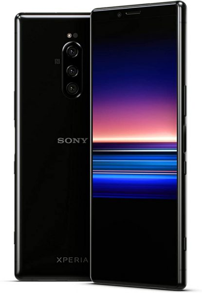 Sony Xperia 1 in black