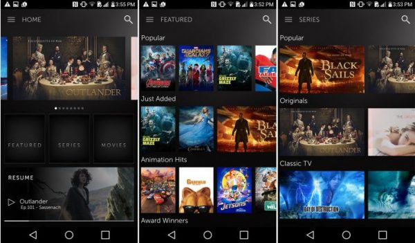 Starz for Android