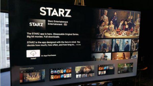 Starz for Smart TV