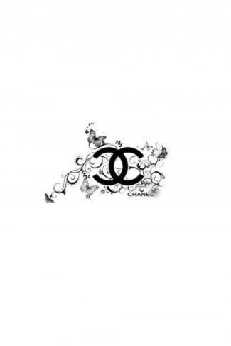 Download Elegant Black Chanel Logo Wallpaper Cellularnews