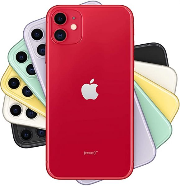 Apple iPhone 11 in multiple colors