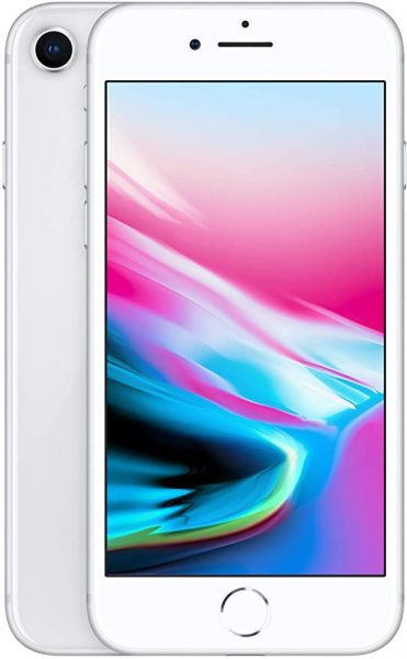 iPhone 8 in pure white