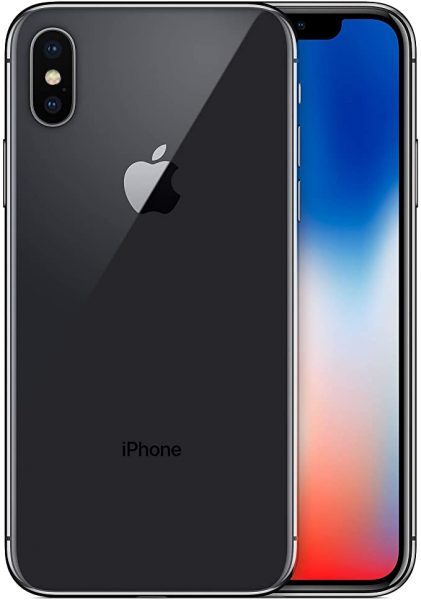 Jet black iPhone X