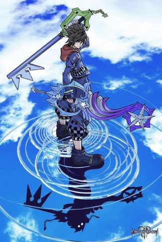 Download Kingdom Hearts 3 Kingdom Key And Shooting Star Wallpaper Cellularnews