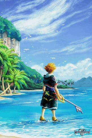 Download Kingdom Hearts 3 Sora At The Beach Wallpaper Cellularnews