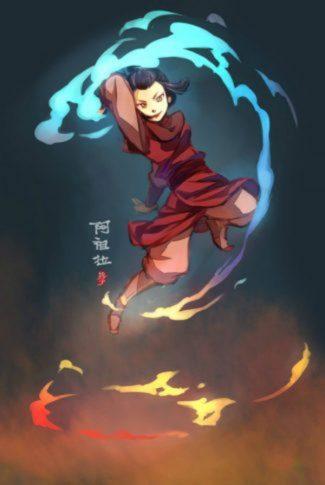 Download Avatar The Last Airbender Princess Azula Firebender Wallpaper Cellularnews