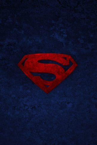 A fancy and elegant cool background for a superman logo in red.