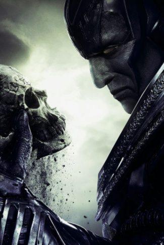 Someone's skull in men's hands