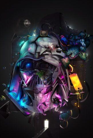 Download Star Wars Darth Vader Artwork Wallpaper Cellularnews