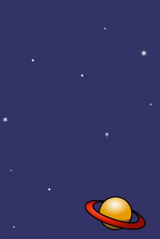 Download A Cute Planet With Stars Wallpaper Cellularnews