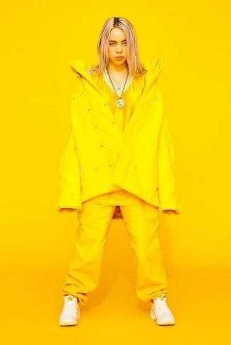 Download Billie Eilish Yellow Wallpaper Cellularnews