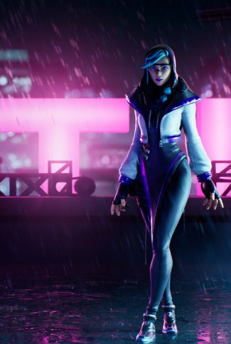 Download Fortnite Characters In Neon Wallpaper Cellularnews