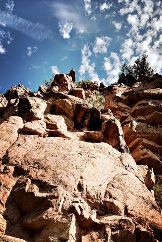 Edge of a Rocky Mountain Wallpaper