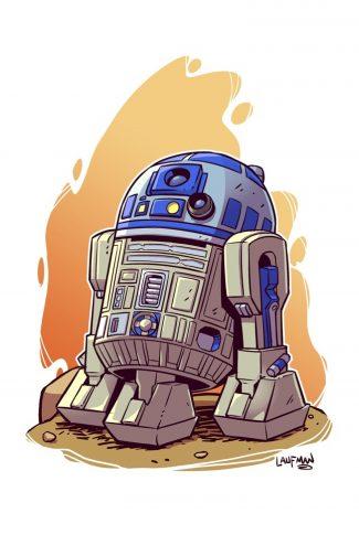 Download Star Wars A Cute R2 D2 Artwork Wallpaper Cellularnews
