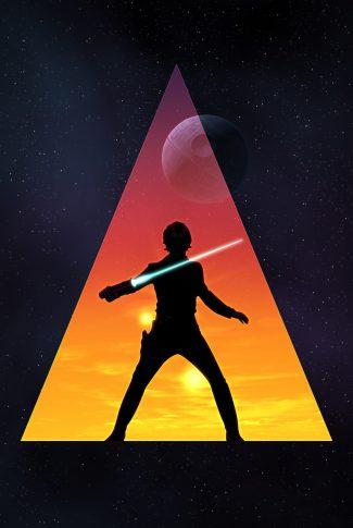 Download Star Wars Luke Skywalker Artwork Wallpaper Cellularnews