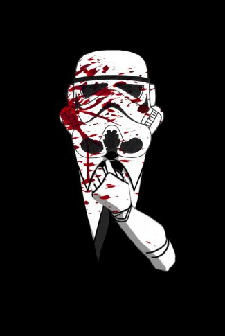 Download Star Wars Bloody Stormtrooper Artwork Wallpaper Cellularnews