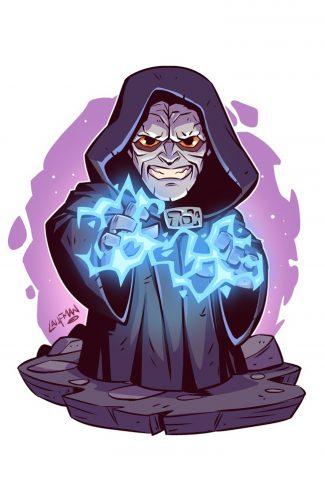 Download Star Wars A Cute Emperor Palpatine Artwork Wallpaper Cellularnews