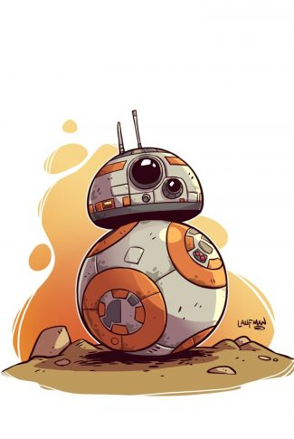Download Star Wars A Cute Bb 8 Artwork Wallpaper Cellularnews