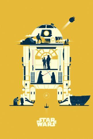 Download Star Wars Minimalist R2 D2 Artwork Wallpaper Cellularnews