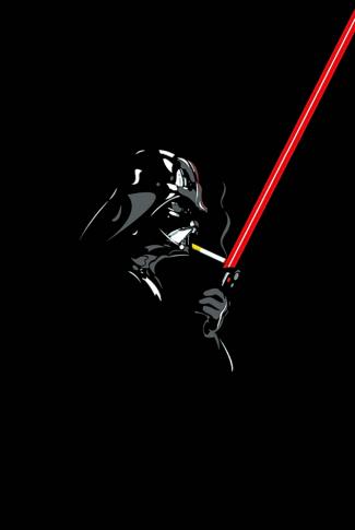 Download Star Wars Darth Vader Lighting A Smoke Wallpaper Cellularnews