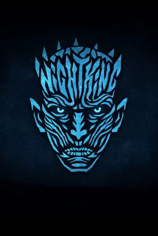 Download Game Of Thrones Night King Glowing In Blue Wallpaper Cellularnews