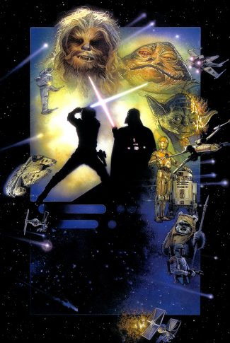 93 star wars return of the jedi poster