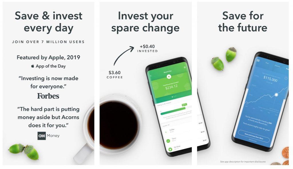 Acorns investment apps