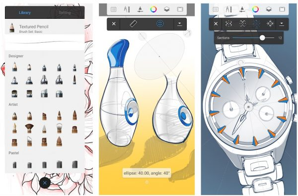 Autodesk Sketch art drafting and drawing apps