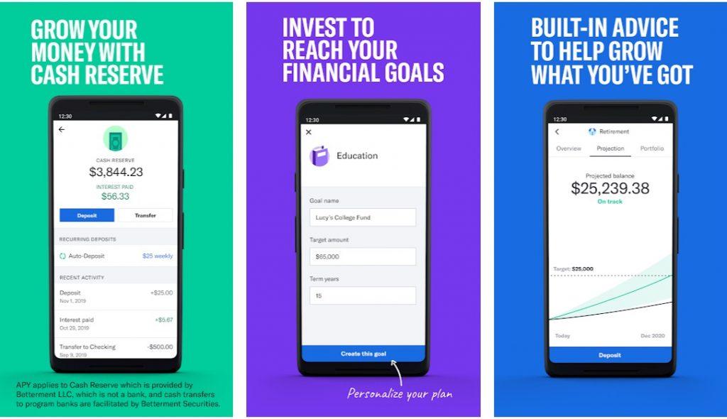 Betterment investment app