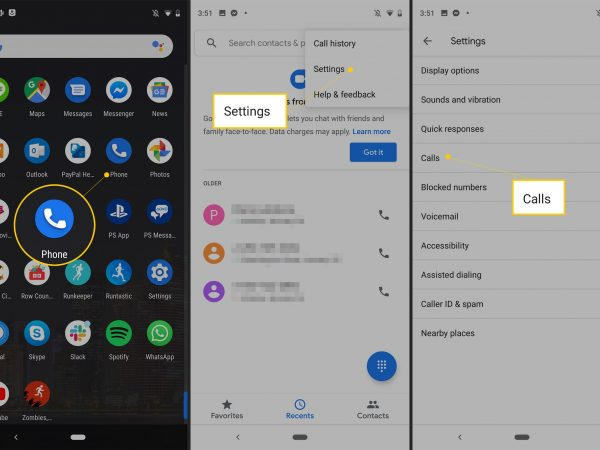 turorial on how to block private number call in adroid