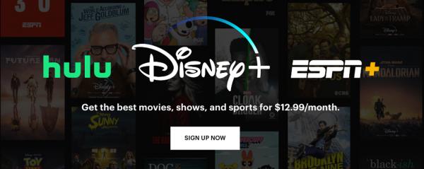 Disney Plus + Hulu & ESPN+