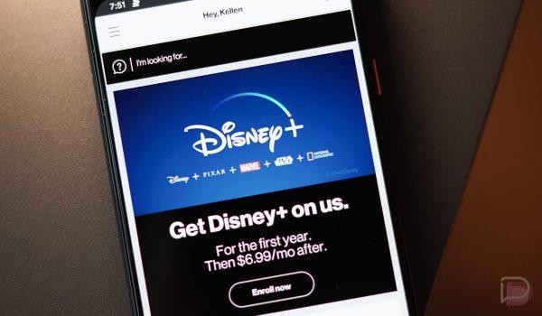 Disney Plus + Verizon