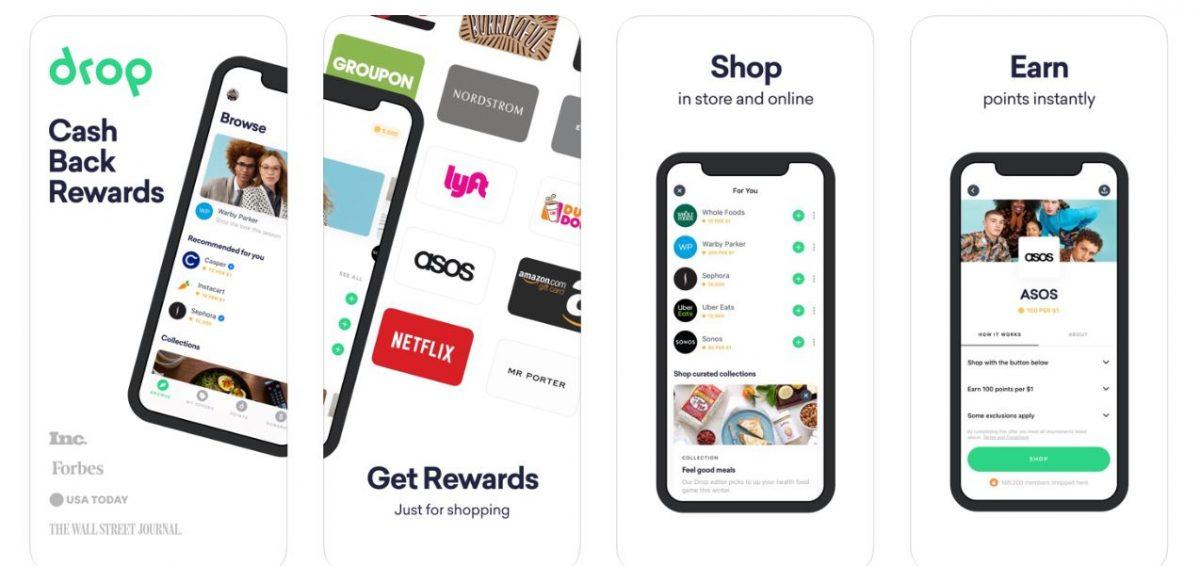 Drop Shopping & Cashback App