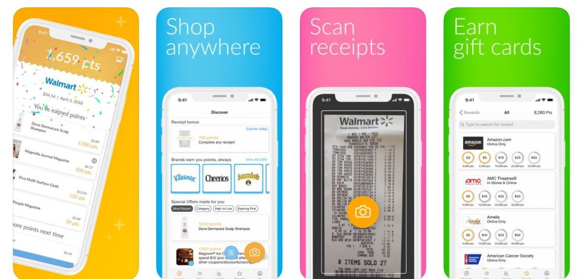 Fetch Rewards Cashback Apps
