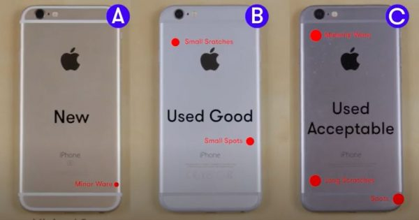 Refurbished Phones GRading