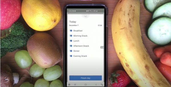 Log your meals