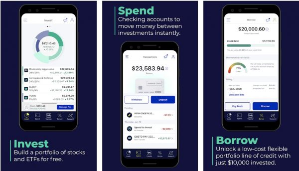 M1 Personalize Finance applications on mobile