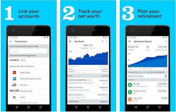 Personal Capital finance management app