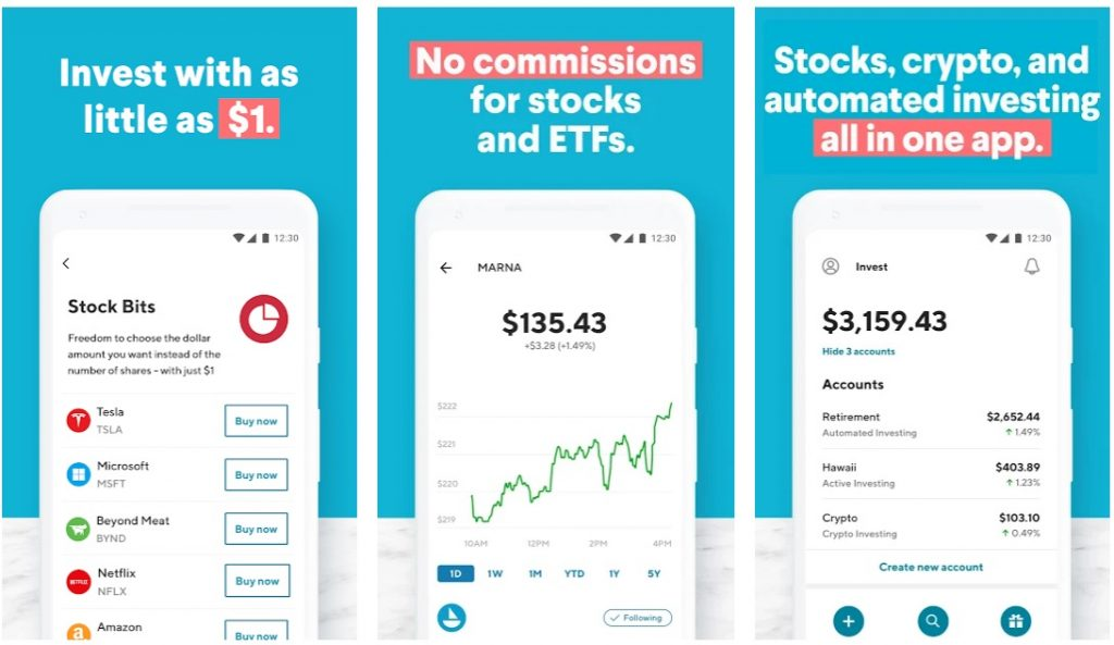 SoFi stock trading app