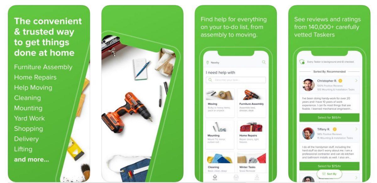 TaskRabbit - Errands & More money making apps