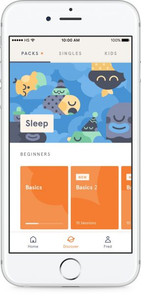 How to use Headspace App