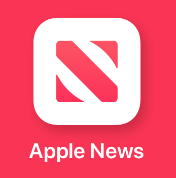 Apple News official logo red
