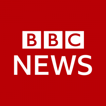 BBC News official logo red and white