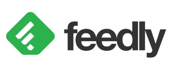 Official logo for feedly.com
